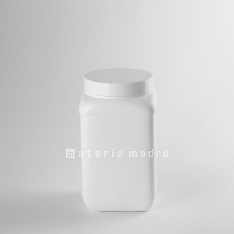 BARATTOLO PLASTICA VUOTO N 1,5 L TAPPO VITE CON SOTTOTAPPO