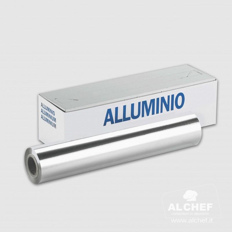 ROTOLO ALLUMINIO 100mt con dispenser
