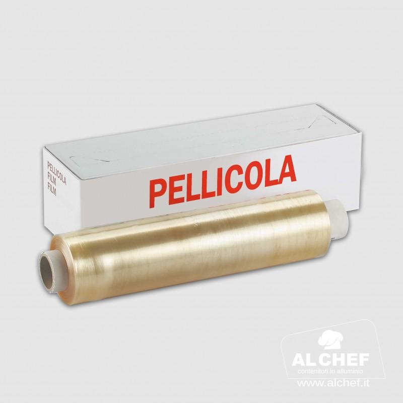 ROTOLO PELLICOLA TRASPARENTE  295X300 mt. PROFESSIONALE PER ALIMENTI